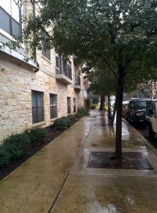 UNO-standard sidewalks